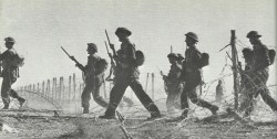 Outbreak of British infantry from Tobruk