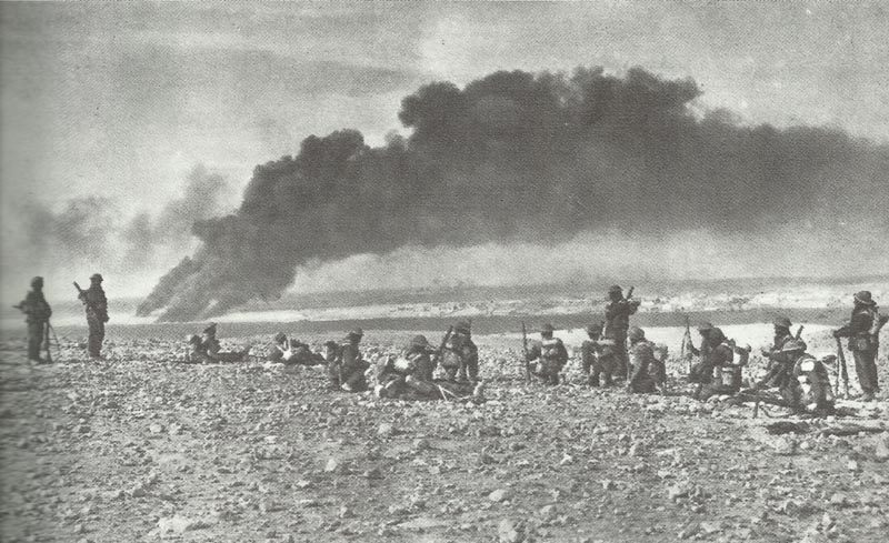 British troops have lifted the siege of Tobruk