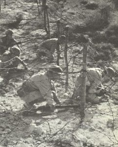 British patrol at Tobruk