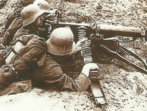 German MG team