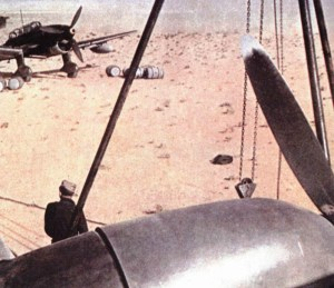 African airfield with Stukas