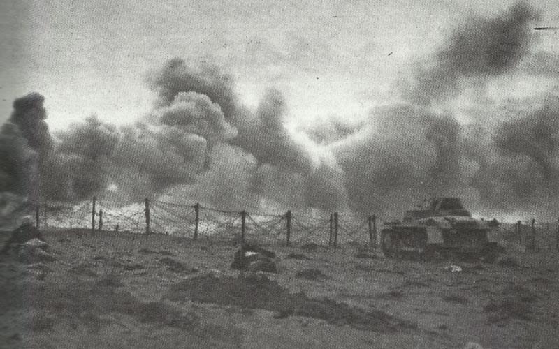 Rommels attack on Tobruk