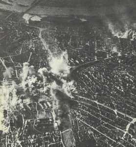 Attack by Ju 87 Stukas on the barracks of the Yugoslav Guard