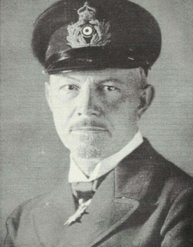 Admiral Reinhard Scheer