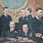 Meeting of British Naval Officers