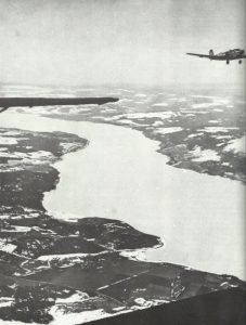 Ju 52 over the fjords of Norway