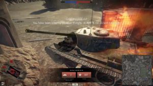 T-44-122 knocked out