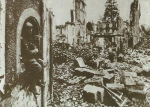 destroyed city of Verdun