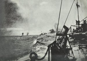 first British shells at Jutland