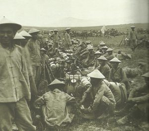 French colonial troops from Indochina
