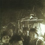 Paratroopers inside a Ju 52