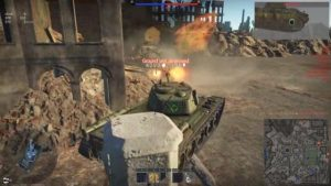 knocking out a Panther in War Thunder