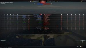Team list War Thunder