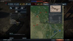 Battle map War Thunder