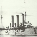 Cruiser Aurora in 1910.