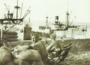 British PoWs are embarked