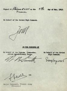 surrender document
