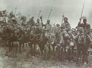 British cavalry at Bazentin Ridge