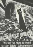 Propaganda poster of 'Reichsluftschutzbund'