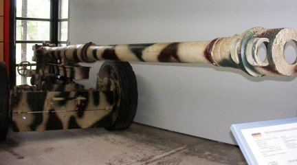 88mm Pak 43/41 in Panzer Museum Munster