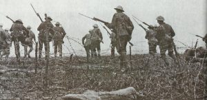 British infantry attack Somme