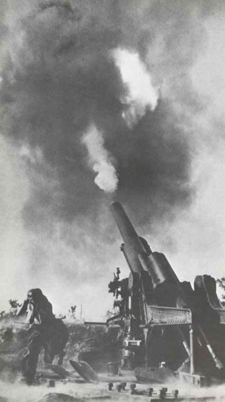 Long range german cannon polishing