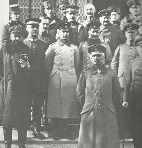 Falkenhayn as commander of the Ninth Army