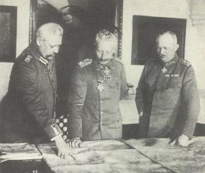 Hindenburg, Kaiser, Ludendorff