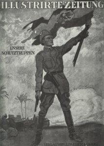 report about Schutztruppen