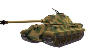 Tiger II (P) with Porsche turret