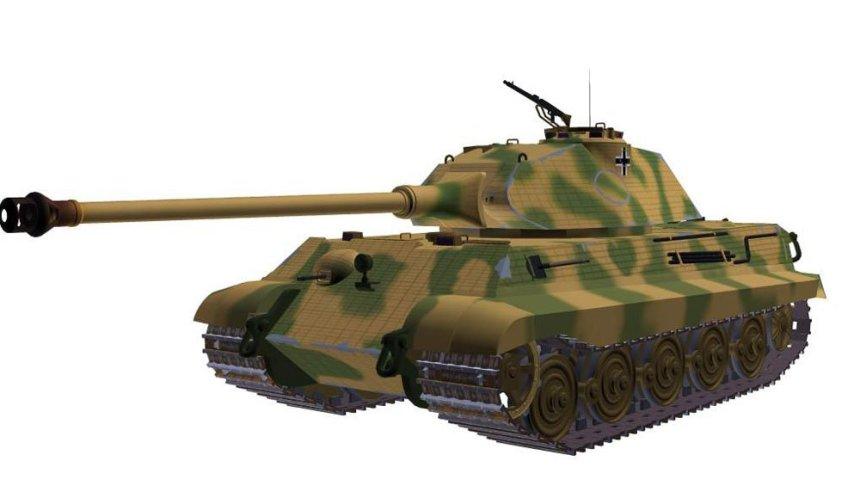 Tiger II (P) with Porsche turret