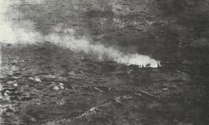 aerial reconnaissance of advancing infantry