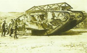 Tank Mk I at the Somme