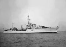 destroyer HMS Cossack