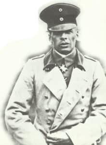German fighter ace Oswald Boelcke