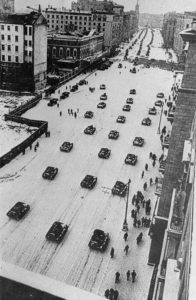 miltary parade for the October Revolution 1941