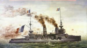 French Pre-dreadnought 'Suffren'