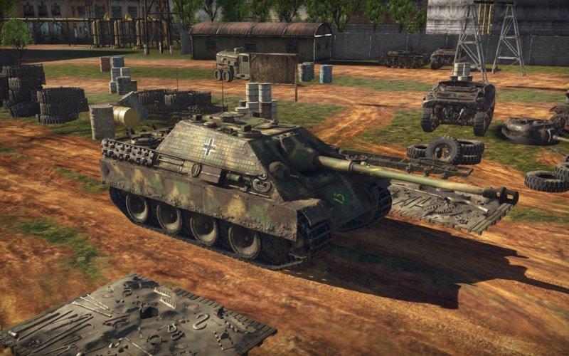 German BR 6.3 line in War Thunder
