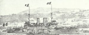 Italian battleship 'Regina Margherita'