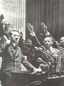 Hitler declares war on USA