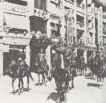 Japanese victory parade Hong Kong