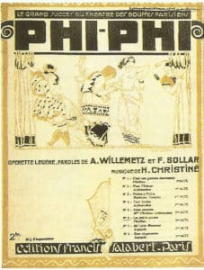 Songs from an operetta