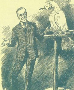 Punch cartoon about President Wilson