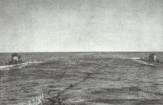 submarine tanker supplies two U-boats