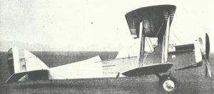 Airco D.H.4 biplane
