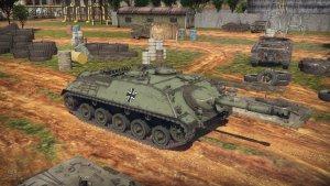 Tank destroyer Jagdpanzer 4-5 'Kanone'