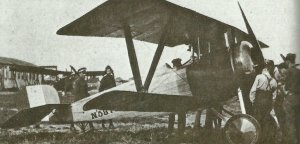 Nieuport XVII fighter