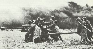 Russian  76.2 mm division field gun