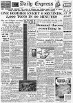 Daily Express: First Thousand Bomber Raid