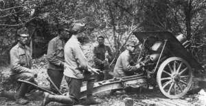Austrian 10cm M10 mounatin howitzer